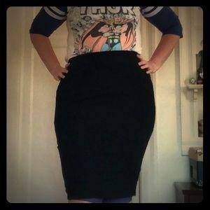 Torrid Pencil Pin Up Skirt